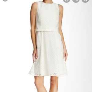 NWT Adrianna Papers Lace Popover Dress